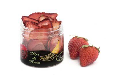 Chips de fresa